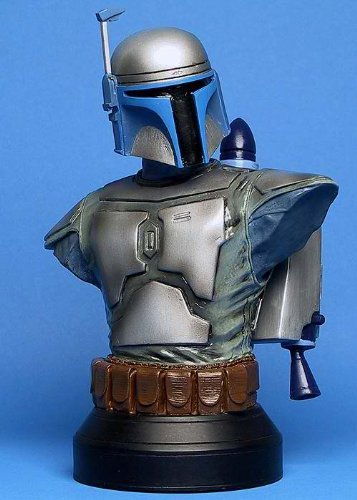 JANGO FETT Attack of the Clones STARWARS LIMITED & NUMBERED EDITION STATUE BUST image
