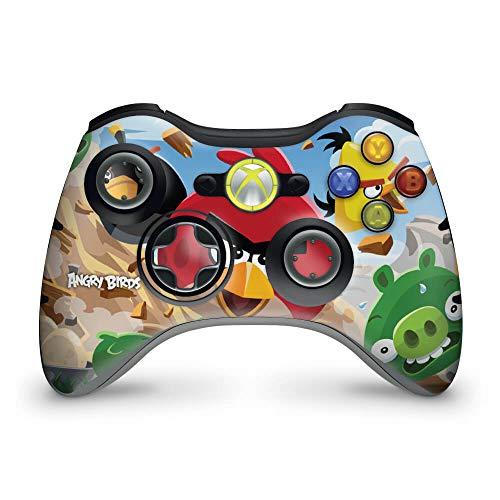 Skin Adesivo Para Xbox 360 Controle - Angry Birds