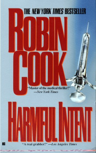 Download Harmful Intent By Robin Cook