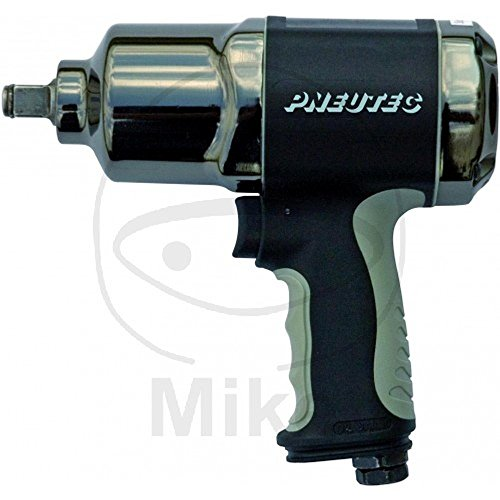 Druckluft Schlagschrauber 1/2 Zoll 1.400 Nm Lösemoment + 10m D.-Schlauch + Kraftstecknusssatz 3tlg. für Alufelgen