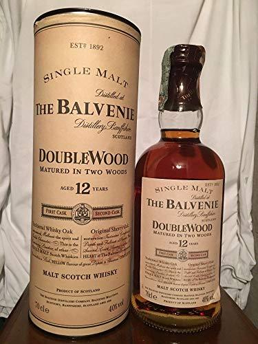 The Balvenie 12yo DoubleWood mit Fall (Tube) 70cl old bottle