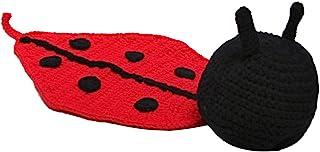 646bc8343fa4a F Fityle Nouveau-né Garçon Fille Crochet Tricoté Bébé Coccinelle Costume  Set Photo Prop Tenues