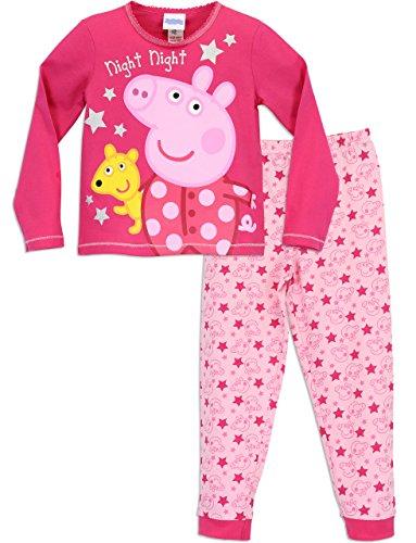 Peppa Wutz Mädchen Peppa Pig Schlafanzug 116