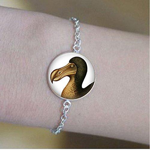 Dod Bird - Dodo Jewelry - Dodo Bird bracelets - Extinction Botanical Jewelry - Wildlife bracelets - Vintage Dodo Bird