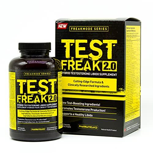 Pharmafreak Test Freak 2.0 - 180 ct New and Improved Version...
