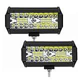Tira de luz LED Coche LED Barra de luz 60W Barra Barra Spotlight Off...