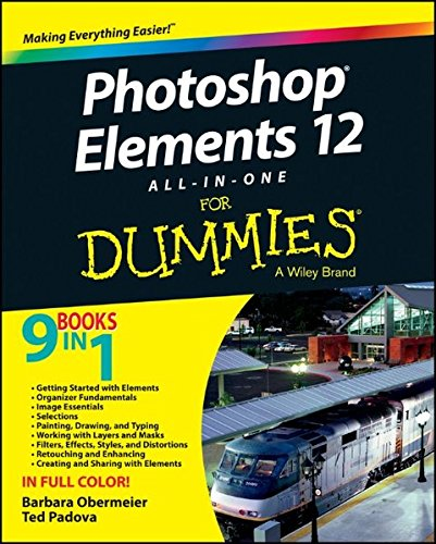 Photoshop Elements 12 All-in-One For Dummies
