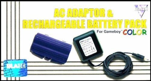 Game Boy - Netzteil + Akku Color Lila