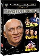 The Best of Yash Chopra (Set of 3 DVDs- Deewaar/Trishul/Joshila)