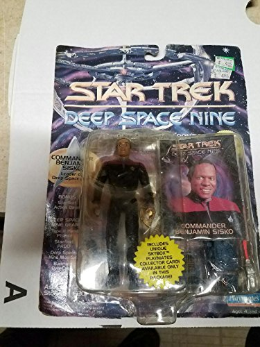 STAR TREK Deep Space Nine Commander Benjamin Sisko 4 inch Action Figure