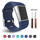 Correas de repuesto para la pulsera con monitoreo de actividad Fitbit Surge, color Blue S