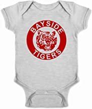 Bayside Tigers 90s Retro Halloween Costume Infant Bodysuit