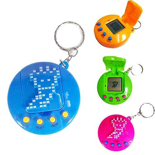 Virtual PET Toy, Womdee electrónica mini PET Toy niño Tamagotchi electrónica virtual digital PET Toy juego máquina para niños regalos de cumpleaños de Navidad (color aleatorio)