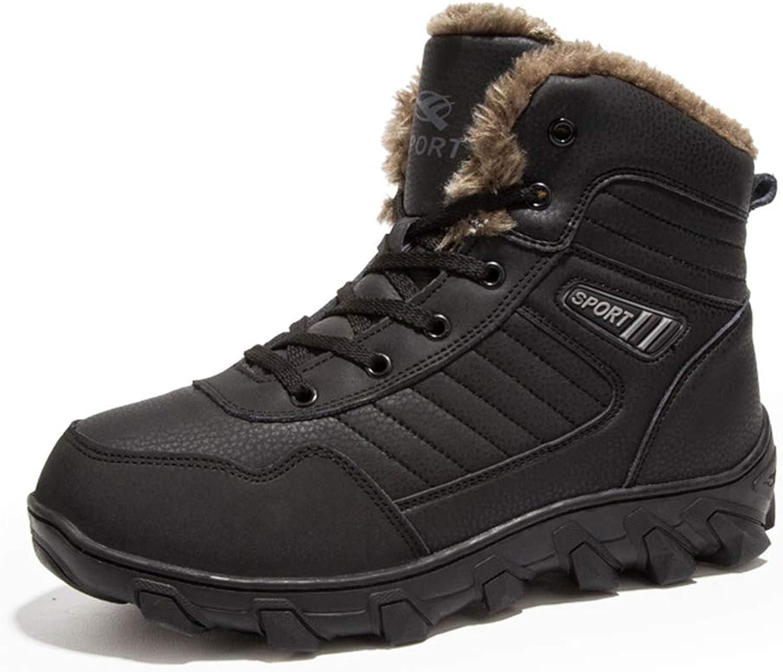 Giles Jones Men's Climbing shoes Hightop Keep Warm AntiSkid Hiking Trekking Boots