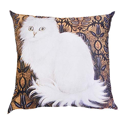 OYSOHE Katze Kissenbezug Dekoration Auto Sofa Schlafzimmer Kissenbezug,Waschbar,45x45cm (Einheitsgröße, M)