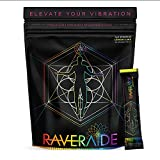 Raveraide All-Natural Hydration Sticks - Lemon Lime | Electrolyte Hydration Powder Mix & Immune Support | Festival & Rave Recovery Supplement | 30 sticks