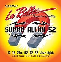 【国内正規品】La Bella ラベラ エレキギター弦 Super Alloy 52 Jazz Light (12-52)