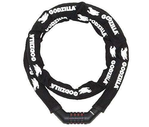 GODZILLA(ゴジラ) マイセットリンクケーブルロック<SGM-202D-R/φ20×1350mm>(ブラック) YD-4337