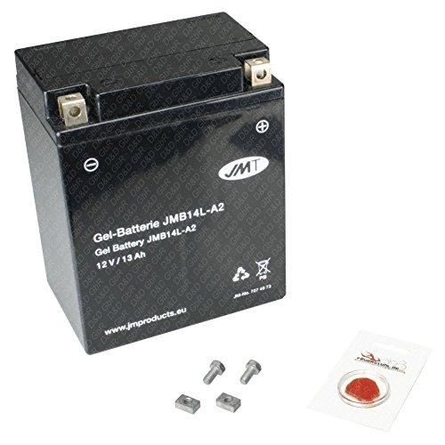 Gel-Batterie für BMW C1 125, 2000-2004 (C1), wartungsfrei, inkl. Pfand €7,50