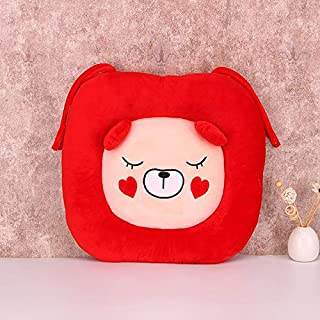eSunny 40Cm Square Cartoon Plush Pillow Soft Stuffed Computer Chair Office Back Cushion My Neighbor Creative Animals Pillow Doll Boy Must Haves Friendship Gifts My Favourite Superhero Coloring