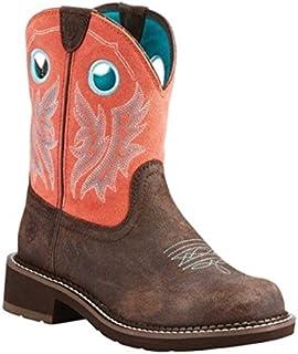 (アリアト) Ariat レディース シューズ?靴 ブーツ Fatbaby Heritage Cowgirl Boot [並行輸入品]