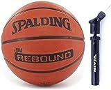 Spalding Rebound Balón de baloncesto naranja NBA al aire libre tamaño 5, 6, 7, 6