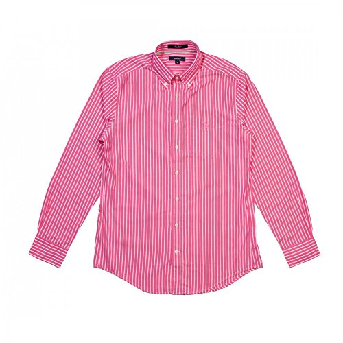GANT The Breton LS BD Mens Shirt Flamingo Pink L
