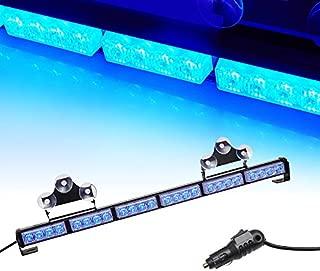 """V-SEK 24 LED 27"""" Hazard Emergency Warning Tow Traffic Advisor Flash Strobe Directional Light Bar (Blue)"""