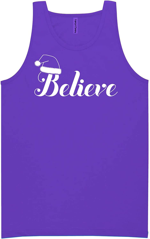 zerogravitee Believe Neon Purple Tank Top - XX-Large