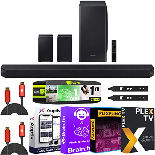 SAMSUNG HW-Q950T 9.1.4ch Soundbar Dolby Atmos and DTS:X Alexa Built-in...