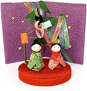 七夕の装飾置物 織姫彦星