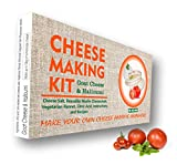 Kit de 4 quesos para hacer queso de cabra, queso Halloumi, queso mozzarella, queso ricotta, gran regalo para todas las ocasiones