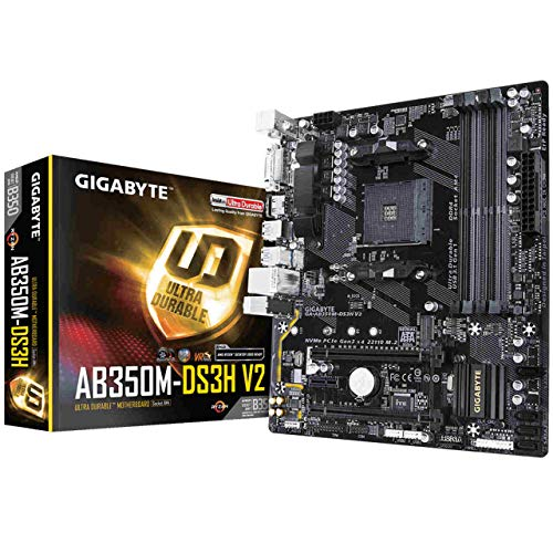 Gigabyte Ga-AB350M-DS3H V2 Rev. 1.1 - Placa Base AMD