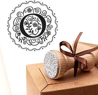 Timbro Lettera O Iniziali Timbri Lettere Alfabeto Monogramma O Idee Regalo Aziendale