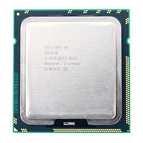 Intel Xeon E5530 SLBF7 2.4GHz/4MB/5.86GT/s Socket/Sockel 1366 Quad CPU Processor (Generalüberholt)