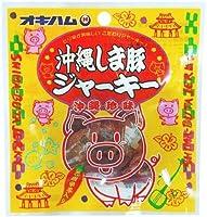 オキハム 沖縄しま豚ジャーキー 12g 40袋