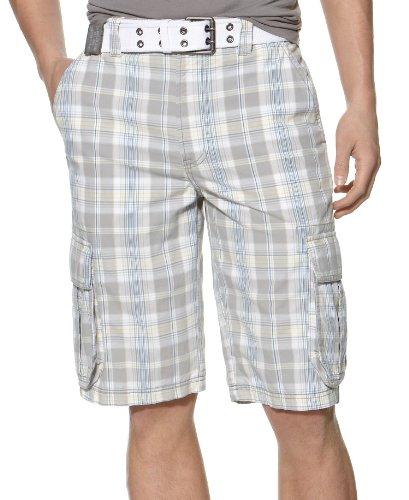 Calvin Klein Sudadera de manga larga para hombre, Blanco (Brilliant White), L