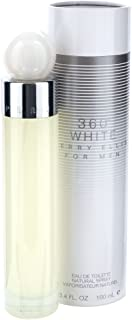 Perry Ellis 360 White for Men 3.4 Ounce Edt Spray by Perry Ellis