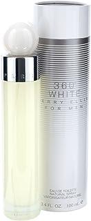 Perry Ellis 360 White for Men Eau De Toilette Spray, 3.4 Ounce