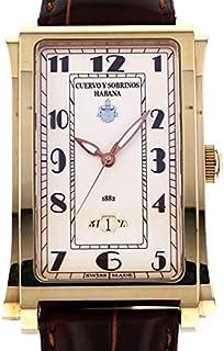 クエルボ・イ・ソブリノス CUERVO Y SOBRINOS プロミネンテ ソロテンポ デイト 10128-CV 新品 腕時計 メンズ (10128CV)