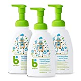 Babyganics Foaming Dish Soap, Pump Bottle, Fragrance Free, 16oz, 3...