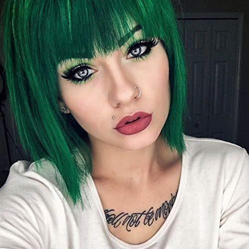 pelucas verdes cortas on line