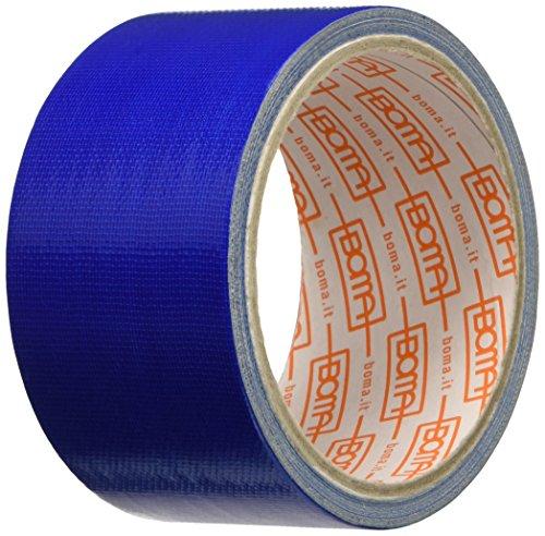Boma B47008500012 Nastro Telato per Riparazioni, Blu, 50mm x 5mt