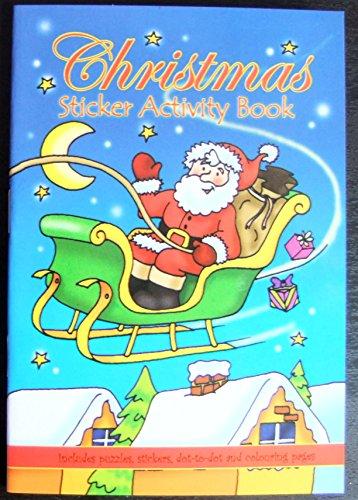 Baker Ross Z1362 Speelgoed Traditioneel & Klassiek Speelgoed 145mm x 105mm Kerst Activiteit Sticker Boek, Verschillende