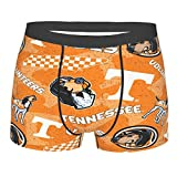 T-Ennessee Vol_Unteers Men'S Boxer Briefs Underwear For Men Stretch Boxer Swimming Trunks,Youth Breathable Boxers Black