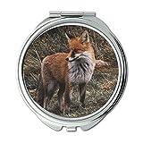 Mirror,Travel Mirror,animal canine cute,pocket mirror,portable mirror