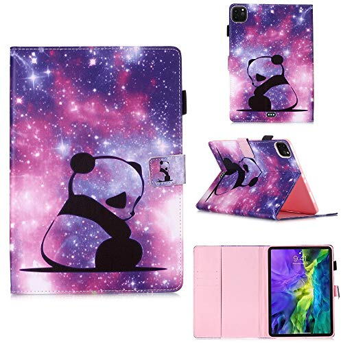 RZL PAD & TAB cases For IPad Pro 11 2018 2020, Pencil Holder PU Leather + Soft Silicon Stand Cover for IPad Pro 11 2020 (Color : 7, Size : For iPad Pro 11)