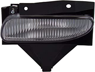 Front Fog Light Lamp Replacement For Ford Mustang Base/Gt Driver Left Side Lh 1999 2000 2001 2002 2003 2004 Assembly