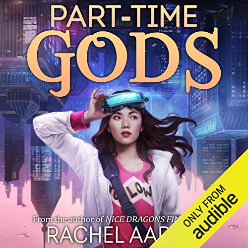 Part-Time Gods audiobook cover art