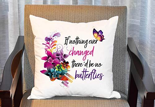 Funda de almohada con diseño de mariposas, diseño de mariposas